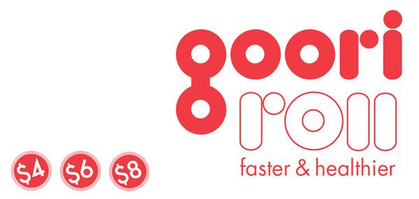 Branding: Goori Roll by Inny Kwak, via Behance