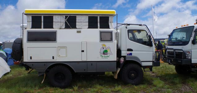 67 best cabovers images on pinterest caravan camper van and campers the crazy camping rigs at americas richest off road adventure party fandeluxe Choice Image