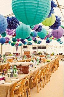 Bright Wedding Theme Ideas (BridesMagazine.co.uk)
