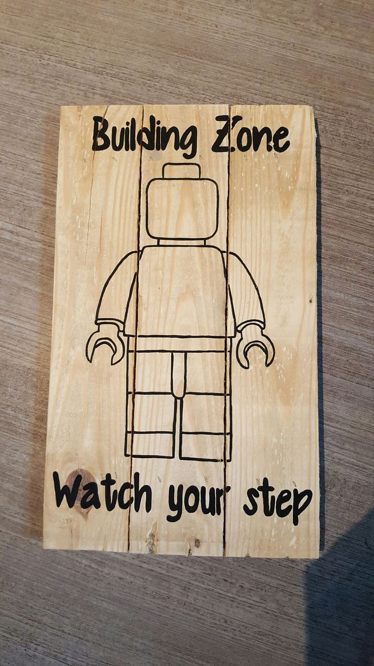 LEGO watch your step by dirtroaddesigns204 on Etsy