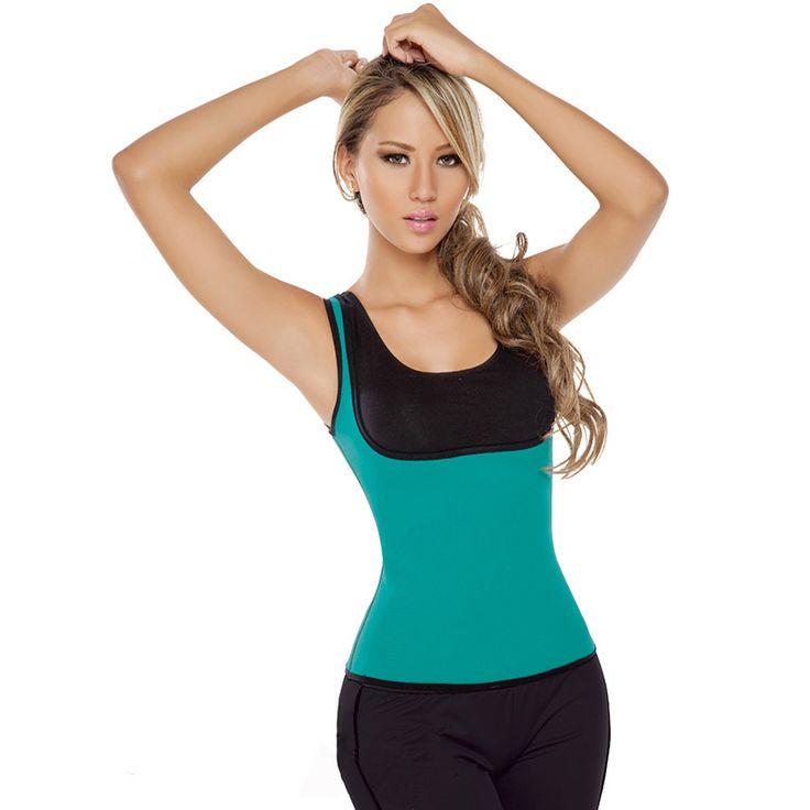 100% Neoprene Women Ultra Sweat Thermal Shirt Double Face Camiseta Termica Fajas Exersize