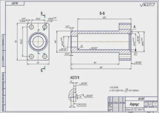 Machine Drawings Are An Integral Part Of Manufacturing And