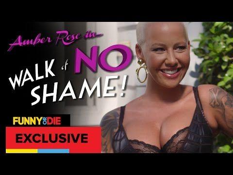Walk Of No Shame with Amber Rose - CAMINHADA SEM VERGONHA E se a sociedade não fosse hipócrita?