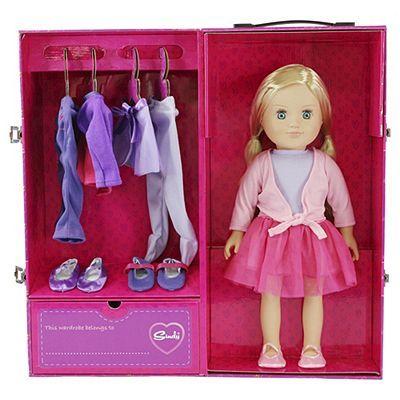 Sindy Doll With Dancer Wardrobe