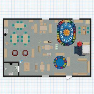 Kaplan classroom floor plan design tool iste2016 for Redesign room layout