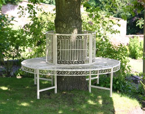 Circular Tree Bench - Old Rectory