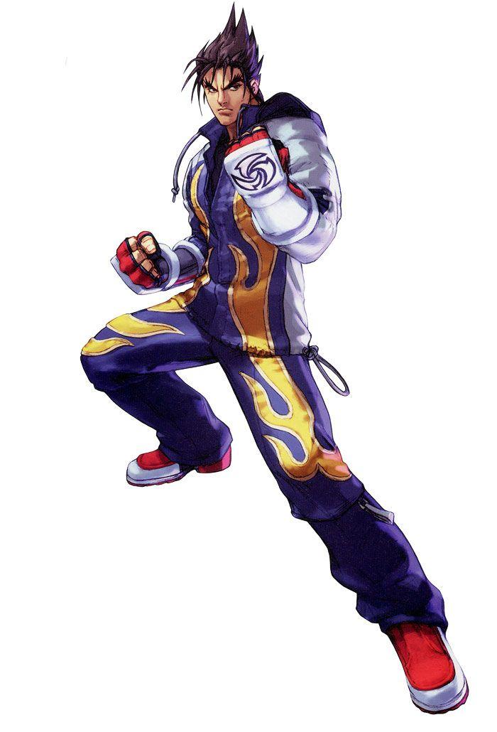 Jin Kazama from Namco × Capcom