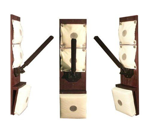 Wing Chun Rice Bag Trainer by warriormartialartsupply.com. $225.00. Rice Bag Training Station is Warriors Newest training devices. The station is ideal for practicing trapping drills when a partner is not available. The station is 44 inch's tall and easily mounts to a wall, wooden post, or tree. Designed and manufactured by Warrior Martial Art Supply. Leaders in the industry of hand made high quality martial Arts training equipment. Any questions on our produc...