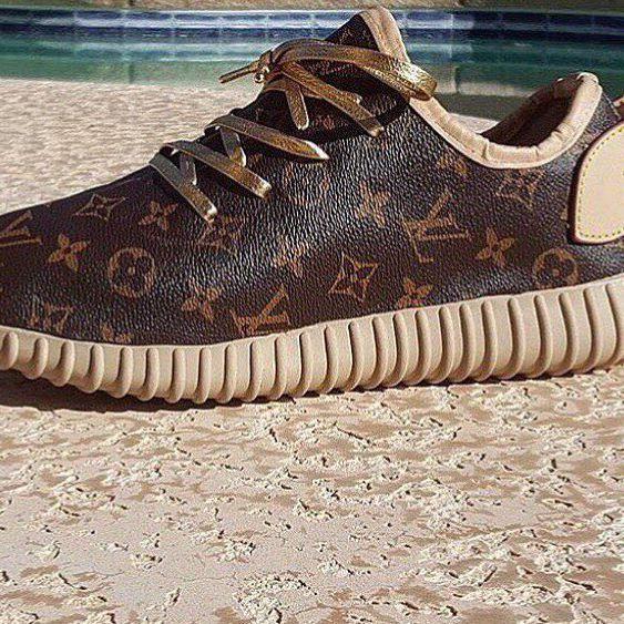 Yeezy LV sneaker.