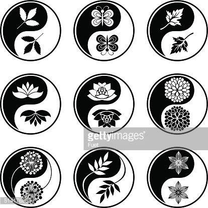 yin yang lotus - Google Search