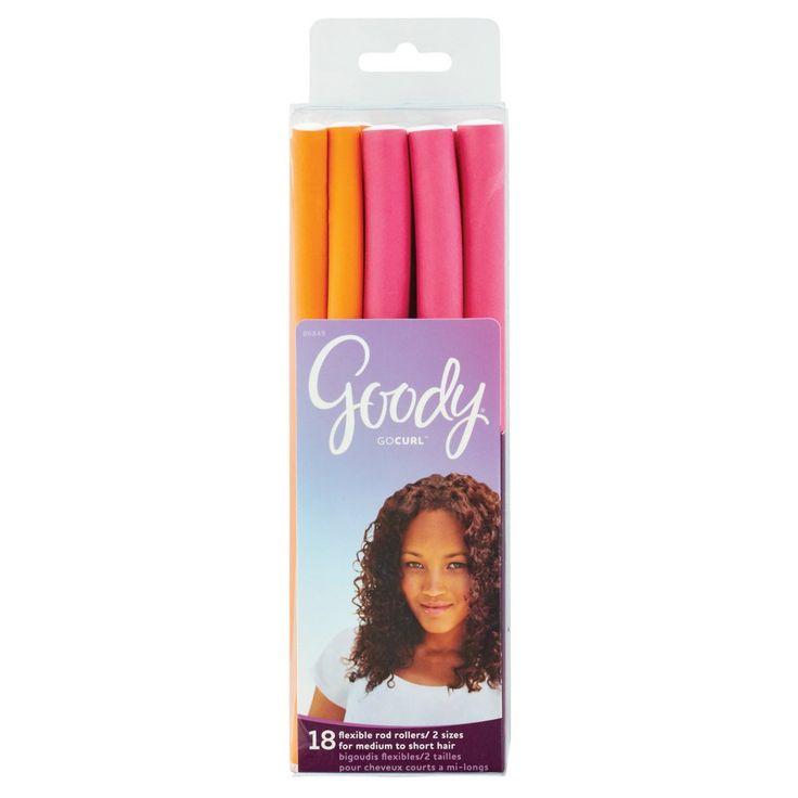 Goody 18 ea Flexible Construction Hair Rollers,