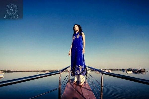Aisha Alam Formal Wear Collection 2013 For Women