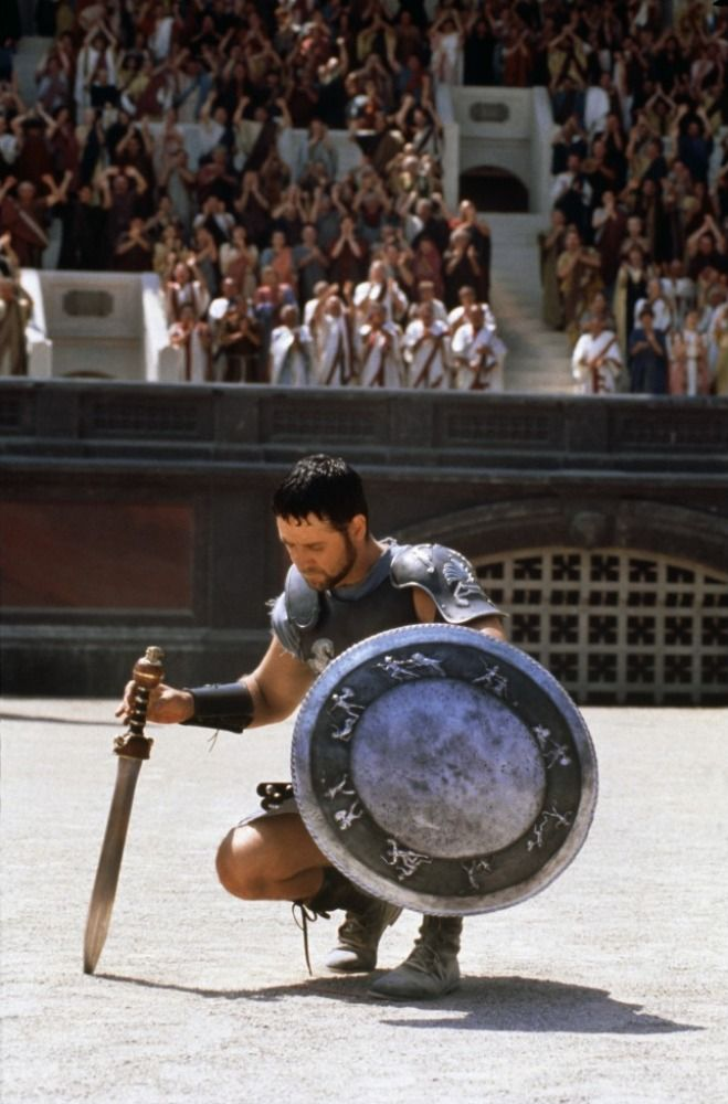 Gladiator (2000) - starring Russell Crowe, Joaquin Phoenix, and Connie Nielsen