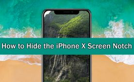 Two Different Ways to Hide the iPhone X Screen Notch.   ✅ #iPhoneX #iphone #iOS11 +Downloadsource.net