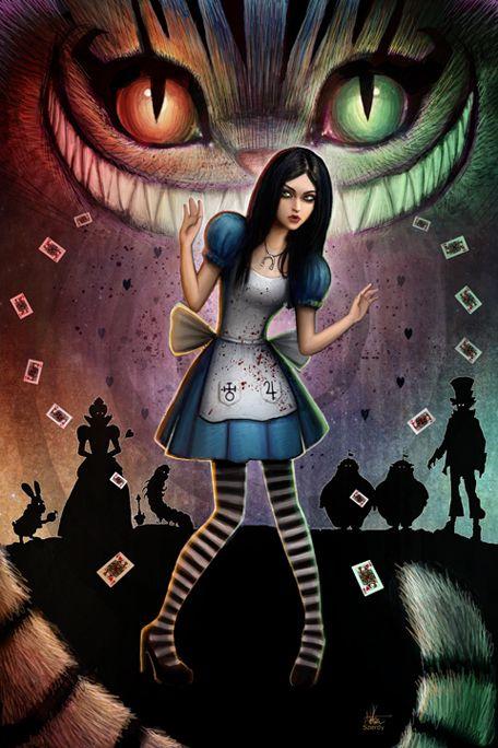 Dark Alice by Nszerdy.deviantart.com on @deviantART