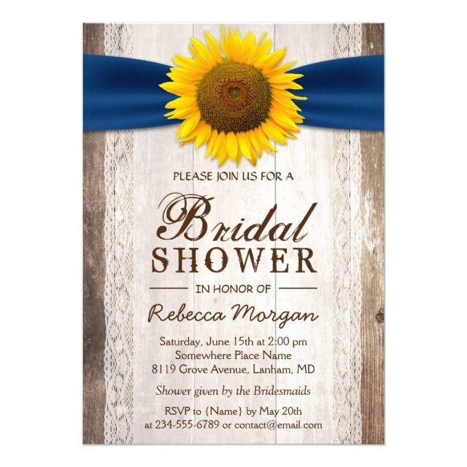 17+ Best Ideas About Sunflower Bridal Showers On Pinterest