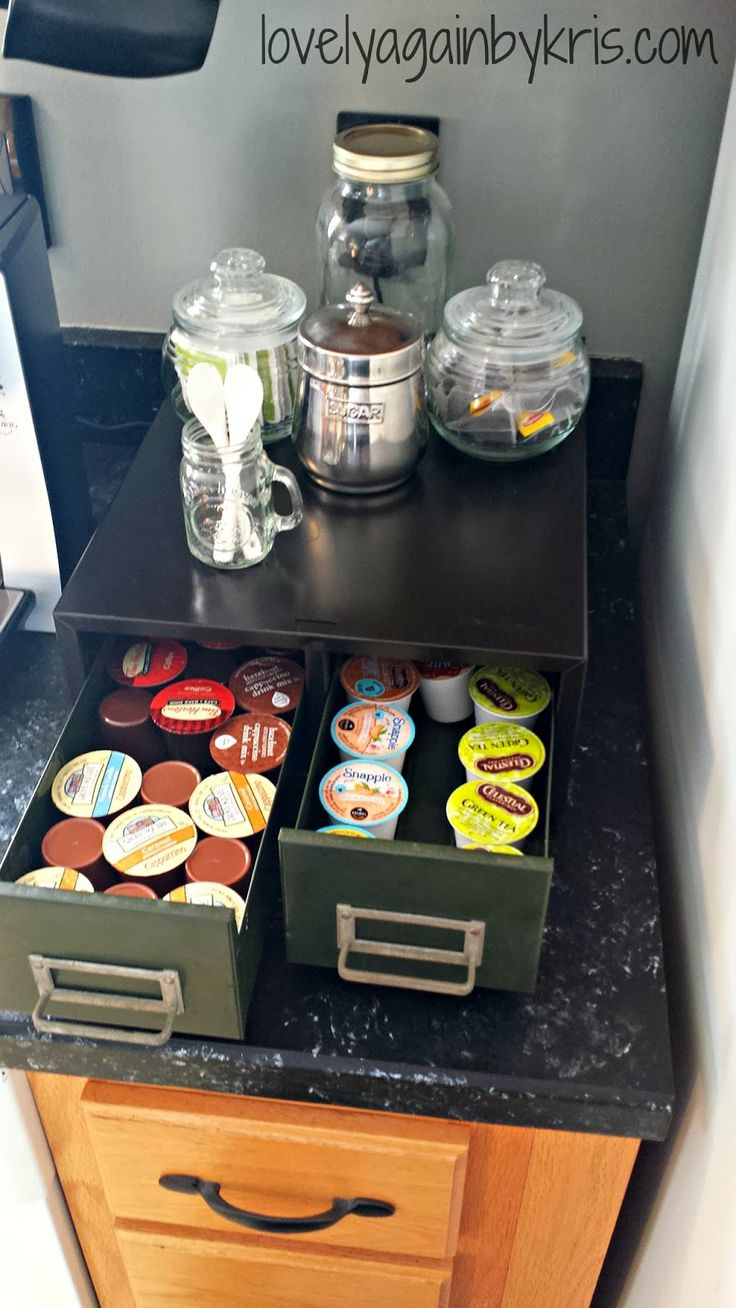 17 best images about k cup holders on pinterest k cup holders how to organize and printer tray. Black Bedroom Furniture Sets. Home Design Ideas