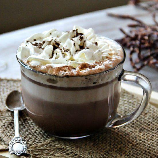 Homemade Nutella Cafe Latte