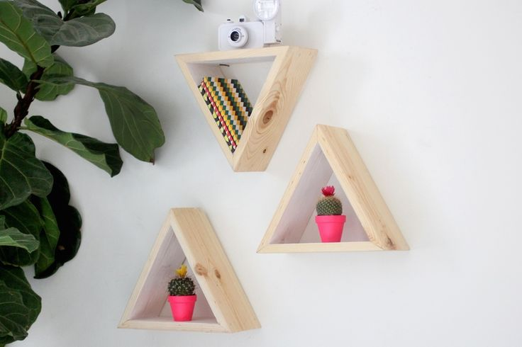 Painted Geometric Shelf - Darby Smart