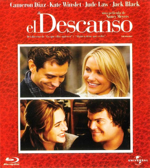 PELÍCULAS: una página de cine: THE HOLIDAY (VACACIONES) (The Holiday, 2006), de Nancy Meyers: Las películas que yo veo