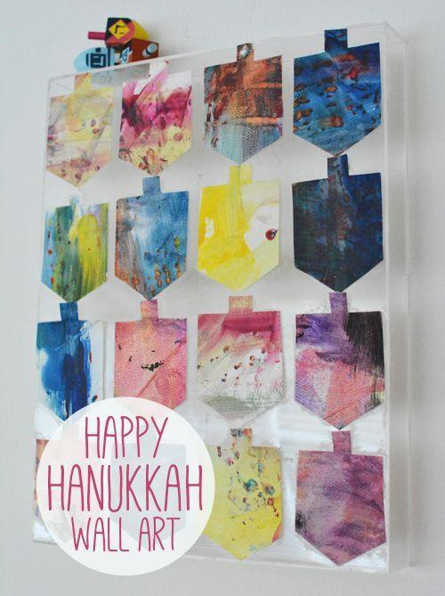 Top 25 ideas about hanukkah for kids on pinterest for Hanukkah crafts for preschoolers
