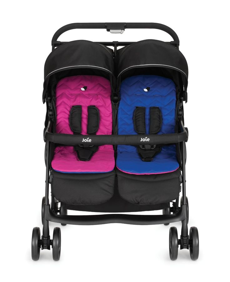 I'm shopping Joie Aire Twin Stroller – Pink/Blue in the Mothercare iPhone app.