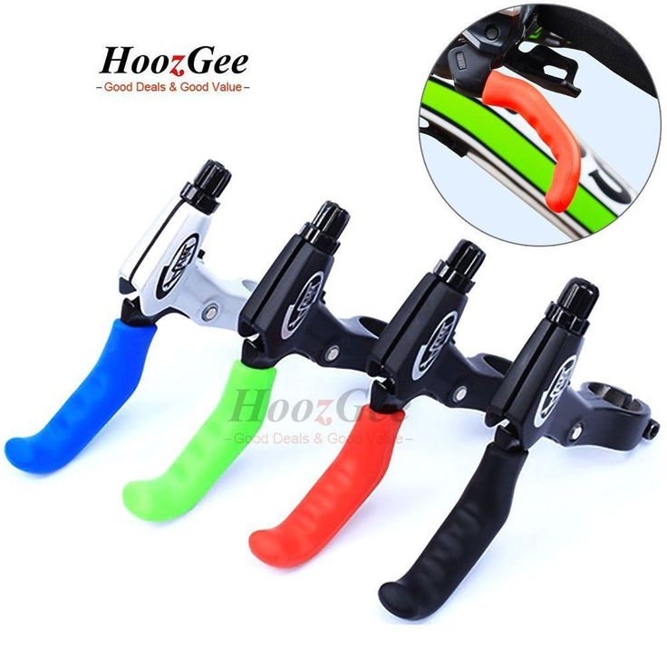 Silicone MTB Bike Bicycle Brake Lever Grips Protector Sleeves Covers Protect Use