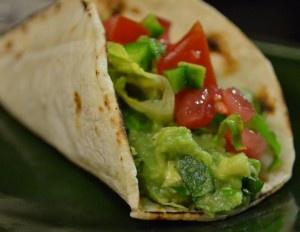 """Tacos con Guacamole   """"Deliciosamente sano"""""""