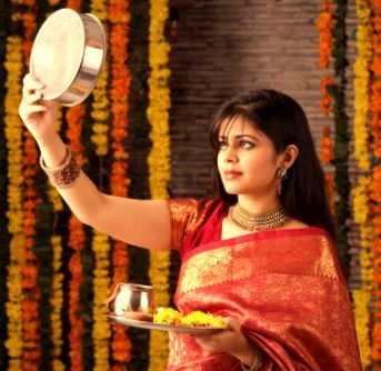 Karva Chauth is a one-day festival celebrated by Hindu women in which married women fasts from sunrise to moon rise for the safety and longevity of their husbands. .