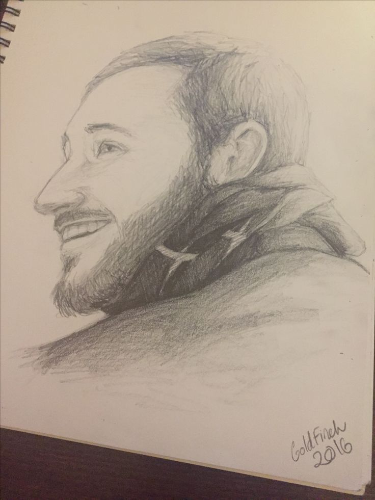 Instagram @goldfincheve4   Portrait, drawing, pencil, male, face, man, art, artwork