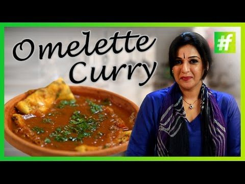 #fame food -​​ How to Make Omelette Curry - By Meneka Arora - YouTube