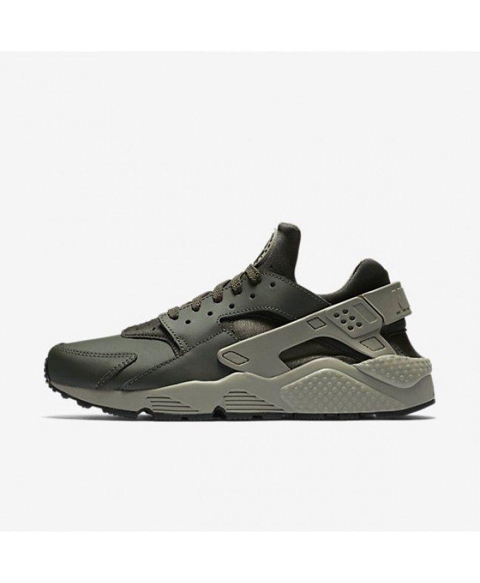 Chaussure Nike Huarache Séquoia Noir Stuc Foncé
