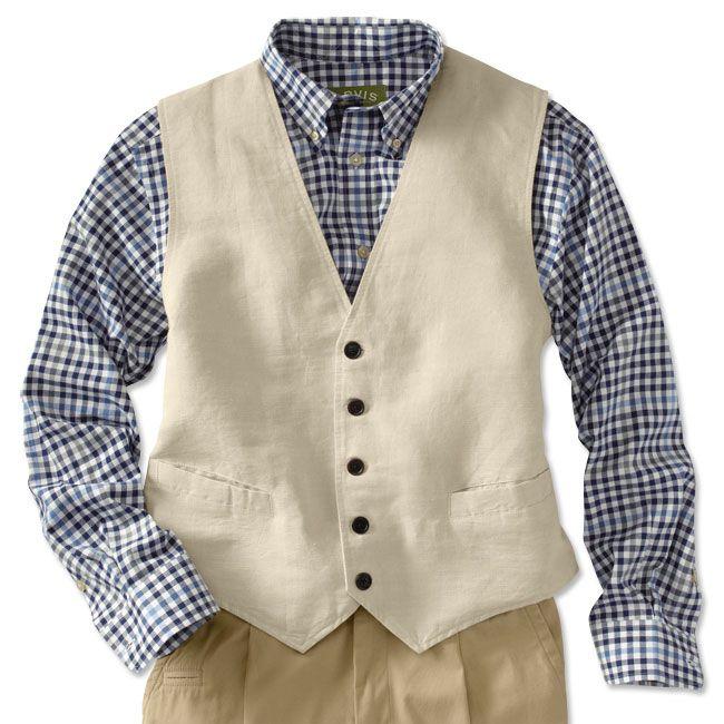Just found this Mens Summer Vest - Hemp-Cotton Vest -- Orvis on Orvis.com!