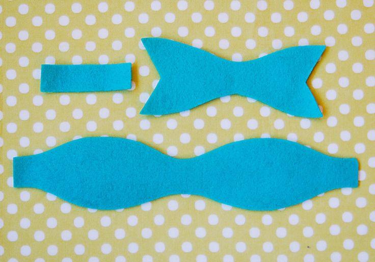 Best 25 felt bow tutorial ideas on pinterest diy bow for Felt bow tie template
