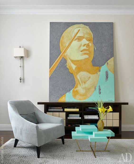 MAGENTA armchair design Castello Lagravinese studio. Photo courtesy of AD magazine Russia