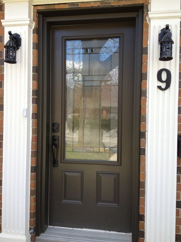 Steel Exterior Doors With Glass
