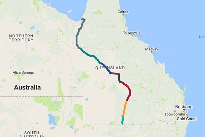 8 DAY MATILDA WAY ROAD TRIP. WALTZE WITH MATILDA FROM CUNNAMULLA TO KARUMBA.
