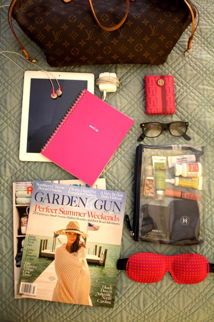 We always recommed traveling with @Garden & Gun! Packing & Traveling Tips