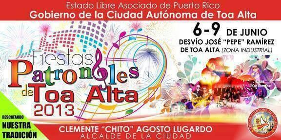 Fiestas Patronales de Toa Alta2013
