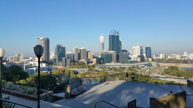 Great view of Perth City from King's Park