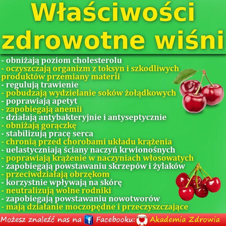 Właściwości zdrowotne wiśni - Zdrowe poradniki