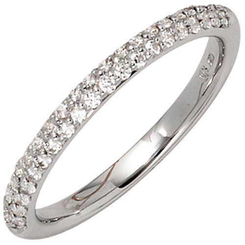 Damen-Ring 40 Diamant-Brillanten 14 Karat (585) Weißgold 0.30 ct. 54 (17.2) Dreambase http://www.amazon.de/dp/B00EYH5OQ0/ref=cm_sw_r_pi_dp_3FRcub0Q5GGS4