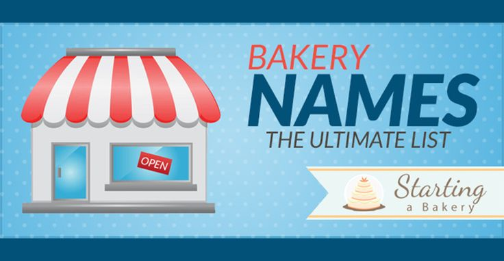 87 cute  creative  clever   funny bakery names starting