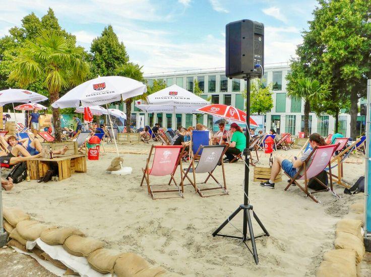 Elegant  CampusBeach University Stuttgart best location to chill and relax