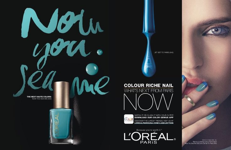 L'Oréal Paris Cosmetic Advertising