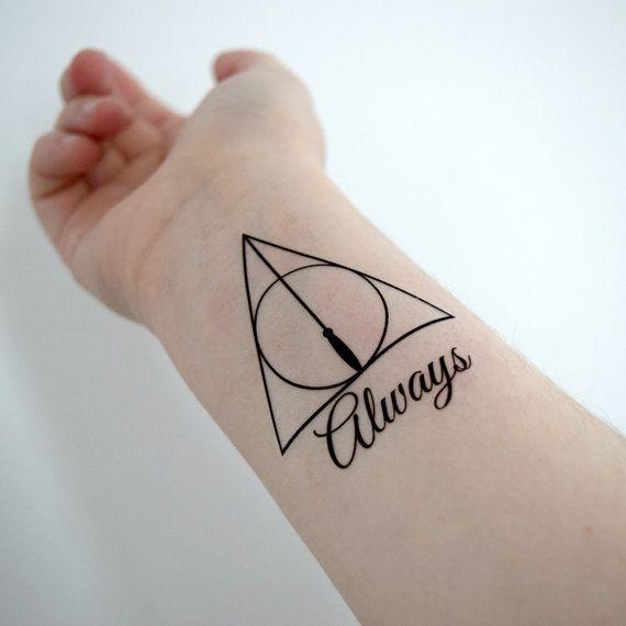 Esta declaração de amor:   21 tatuagens temporárias do Harry Potter que todos os fãs vão adorar