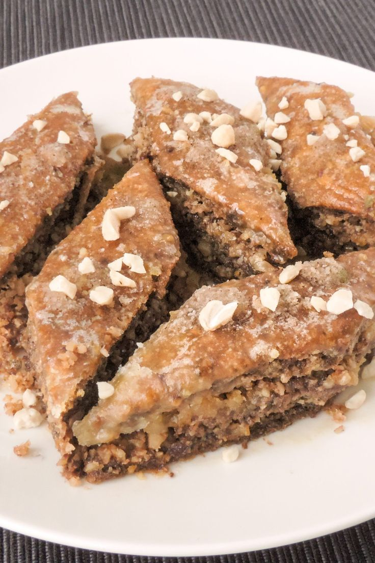 Keto Baklava   Recipe in 2019   Bake: Lower Carb Options   Pinterest   Keto, Keto recipes and ...