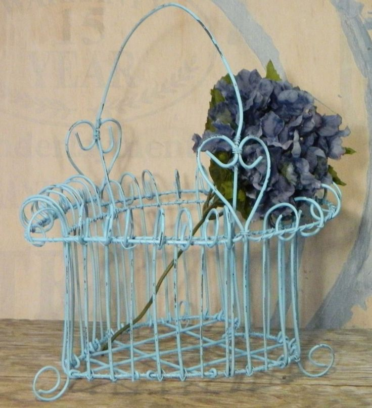 100+ best Wire baskets images on Pinterest | Wire baskets, Handle ...