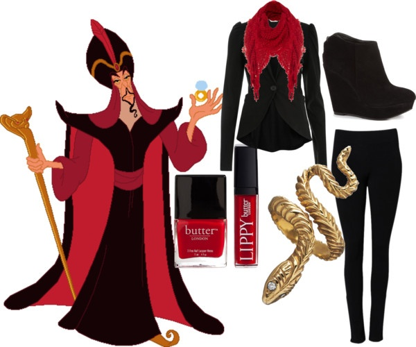 Cartoon Characters Clothes : Quot cartoon character inspired fashion jafar by heather