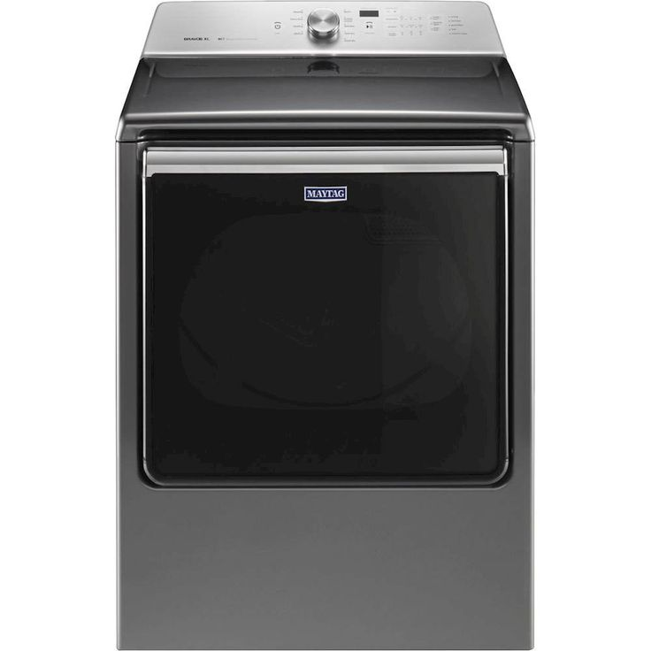 Maytag - 8.8 Cu. Ft. 10-Cycle Extra-Large Capacity Gas Dryer - Metallic Slate